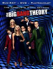 The Big Bang Theory: The Complete Sixth Season (Blu-ray/DVD, 2013, Canadian Ultr