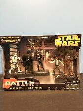 Star Wars Rebel Vs. Empire Battle Packs MISB