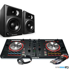 Numark Mixtrack Pro 3, M-Audio AV32 Speakers, Headphones, DJ Package Bundle Deal