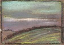 LANDSCAPE Pastel Drawing MARCUS ADAMS 1957 IMPRESSIONIST