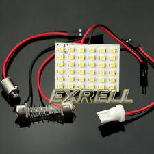 Pannello Luce Interna Auto 36 LED SMD Bianco Caldo Adattatori T10 BA9S Siluro