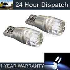 2X W5W T10 501 CANBUS ERROR FREE WHITE LED SIDELIGHT SIDE LIGHT BULBS SL101204