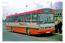pt7545 - Howletts Bus no 61 to Sileby at Loughborough - photograph 6x4