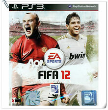 PS3 FIFA 12 SONY PlayStation Electronic Arts EA Sports Games