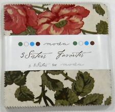 """Moda 3 Sisters Favorites 5"""" Charm Pack Fabric"""