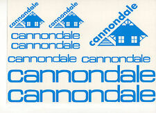Cannondale Vintage style decal stickers set for your bike Colors available