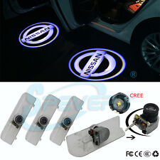 4x Car Door Led Lamp Courtesy Laser Projector Logo Ghost Shadow Light for Nissan