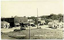 North Anson ME Street View Cities Service Gas Station RPPC Real Photo Postcard