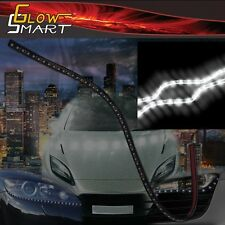 "24"" White Rubber Led Strip for Cars Boats Motorcycles & Parties (1-piece)"