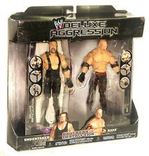 WWE Deluxe Aggression Brothers of Destruction Undertaker Kane 2 Pack Figure Set