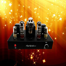 220V EL34 Single-ended Class A Stereo Tube Amplifier HIFI AMP Special Price