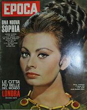 EPOCA N°644/ 27/GEN/1963 * UNA NUOVA SOPHIA * MINA e CORRADO * LEARCO GUERRA *