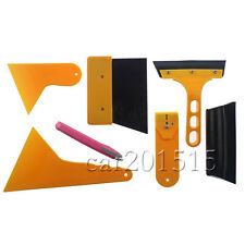 Car Window Tint Vinyl Film Tool Squeegee Scraper Applicator Installation Tool
