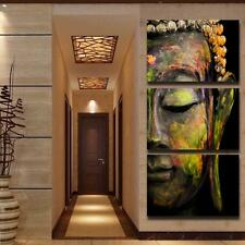 Buddha Oil Painting Wall Art Canvas Print With Frame Home Decor Ready to Hang