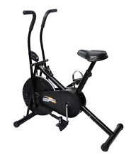 DEEMARK AIR BIKE BGA 2001 EXERCISE CYCLE DUAL ACTION WEIGHT LOSE WITH METER