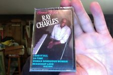 Ray Charles- Home Style- new/sealed cassette tape