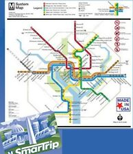 Jigsaw puzzle Trains Subway System Map Washington Metro 500 piece NEW Made USA