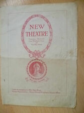 New Theatre- Mary Moore & Sybil Thorndike's ROUNDING THE TRIANGLE & JANE CLEGG