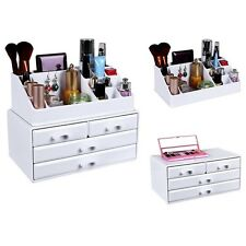 Jewelry Box Organizers Cosmetic Make Up Tidy Unit Storage Holder Makeup Bathroom