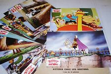 ASTERIX  les bretons Goscinny uderzo jeu 16 photos cinema lobby cards animation