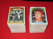 1972 Topps Baseball U Pick 10 complete your set EX+ lot HI# STARS choose