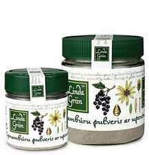 Jerusalem Artichoke (Topinambur) Powder w/Black Currant, Inulin, 100gr (3,5oz)