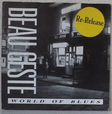 "BEAU GESTE World of blues RARE 7"" 1989 poprock BELGIUM"