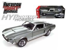 AUTO WORLD 1:18 1967 SHELBY GT-350 DIE-CAST GRAY 50TH ANN. AMM1060