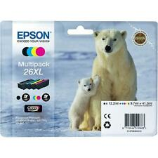Genuine Epson 26XL Multipack T2636 Ink Cartridges for Expression XP-800 XP-810