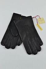 Dents Mens Kent imipec peccary Leather Gloves. black,brown & English tan. 5-1561