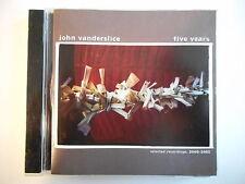 JOHN VANDERSLICE : FIVE YEARS [ CD ALBUM PORT GRATUIT ]
