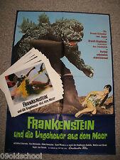 Frankenstein und die Ungeheuer aus dem Meer 8 Fotos + Plakat Big Duel in the