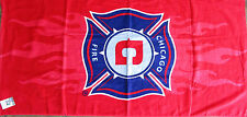 Unisex Chicago Fire Towel Bath, MLS Soccer Team Toalla de Playa 36x57