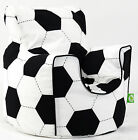 Cotton Football Bean Bag Arm Chair with Beans Child / Teen size From Bean Lazy