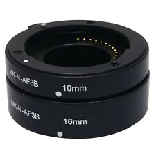 Meike Auto Macro Focus AF Extension Tube Ring Set Adapter for Nikon 1 Mount Lens