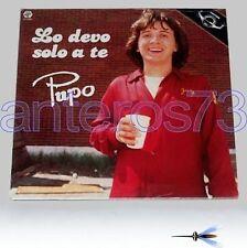 """PUPO """"LO DEVO SOLO A TE"""" RARO LP 1981 - SIGILLATO"""