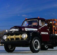 Stunning / 1951 HERSHEY'S CHOCOLATE SYRUP Ford F6 Stake Truck -  First Gear
