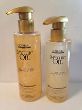 Loreal Mythic Oil Souffle d'Or Sparkling Sparkle Shampoo Conditioner Set