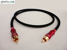 E02 (0.3m 1ft) --- Digital Coaxial 75Ω RCA/Phono (m/m) Audio/Video Canare LV-61S