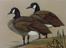 1989 Virginia Duck Stamp Press Proof Print by Art Lamay - Artist Signed