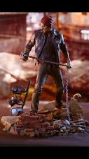 inFAMOUS Second Son PS4 Delsin Rowe Statue Limited Edition #205 LIGHTS DAMAGED