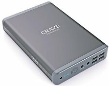Crave 50000mAh Dual USB Portable Power Bank External Battery Charger For Laptops
