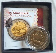 2013 Oom Paul Mintmark R5 South Africa coin with certificate