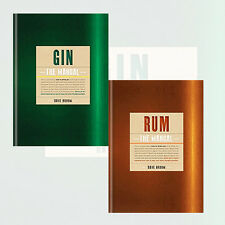 Gin: The Manual and Rum The Manual by Dave Broom 2 Books Collection Set NEW