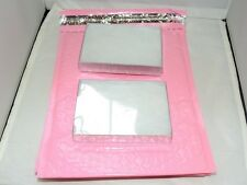 18 Pastel Pink 8.5x12 Poly Bubble Mailers, Padded Self Adhesive Colored Mailers
