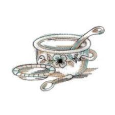 1081:  Machine Embroidery Designs - Kitchen Time - Redwork