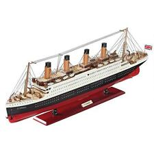 "31.5"" Scaled Museum Replica Collectible Titanic Model Cruise Ship with Stand"