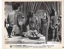 """Victor Mature,Rita Gam,""""Hannibal"""" 1959 Vintage Movie Still"""