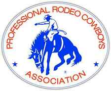 "Professional Rodeo Cowboys PRCA Car Bumper Window Tool Box Sticker Decal 5""X4"""