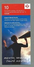CANADA 2008 Booklet - MENTAL HEALTH  - 10 @ Permanent value - Complete - MNH
